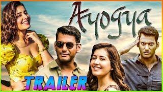 Ayogya - Hindi Dubbed Movie| Trailer | Vishal | Raashi Khanna |R Parthiban | Venkat Mohan