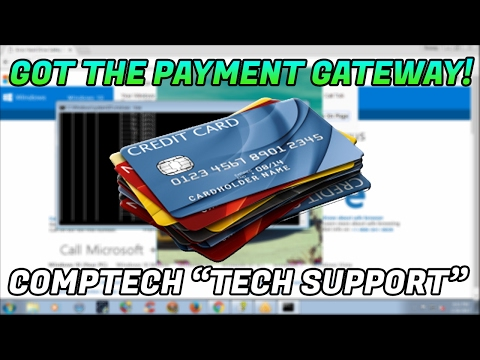 "GETTING INTO A SCAMMERS PAYMENT GATEWAY! ""computech24"" 