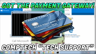 GETTING INTO A SCAMMERS PAYMENT GATEWAY!