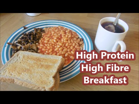 Cooking with Saina #4: High Protein High Fibre Breakfast