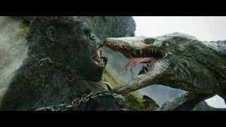 新たなコング伝説の誕生を告げる特別予告公開!『キングコング:髑髏島の巨神』