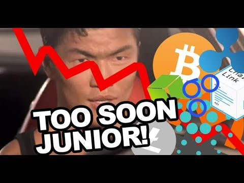 When You Try To Buy The Dip (Too Soon Junior!) - YouTube