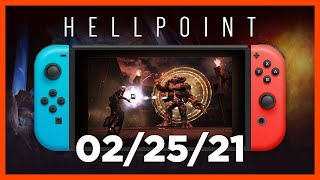 Hellpoint Switch Gameplay Trailer | Coming February 25