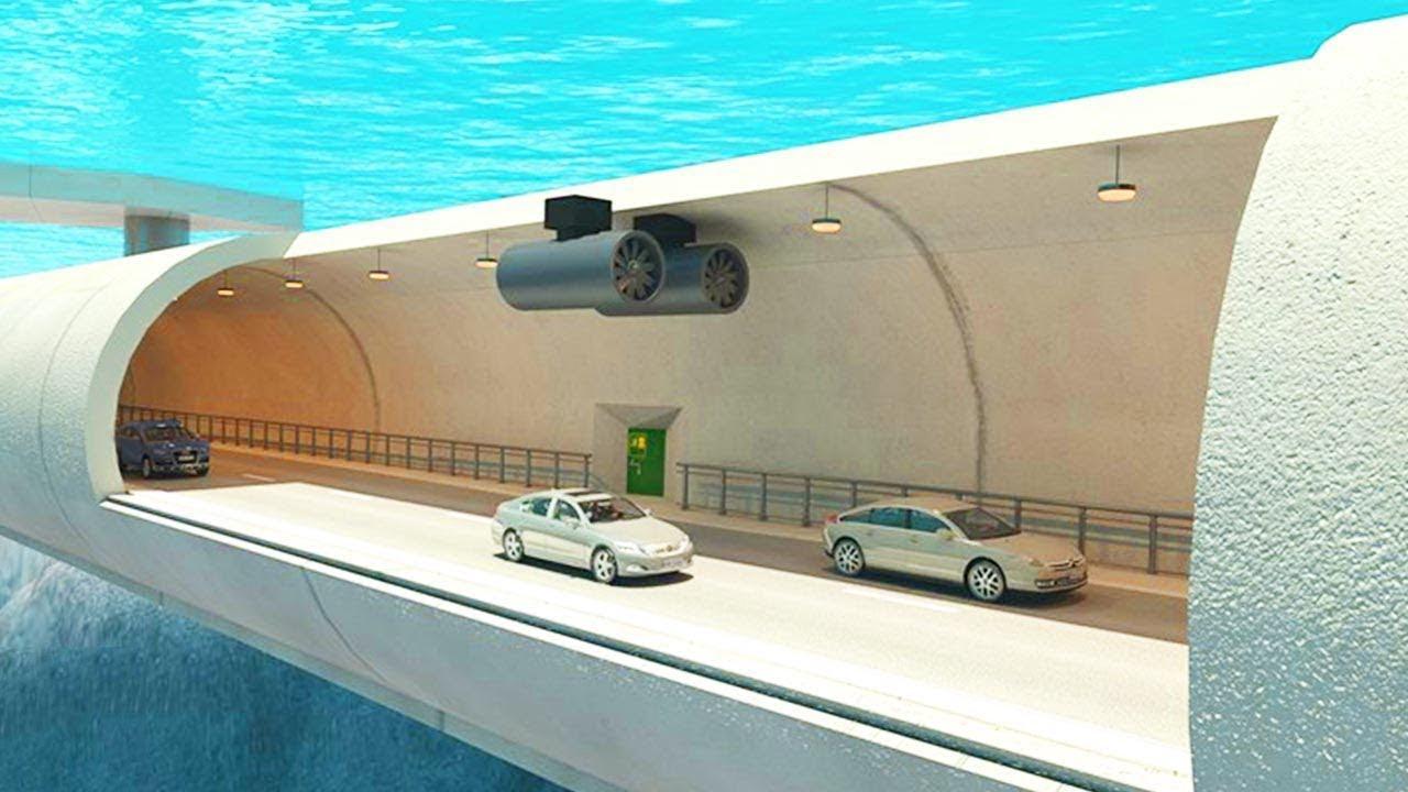 شاهد أول طريق سريع تحت الماء في النرويج.. بتكلفة 47 مليار دولار !!