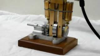 moteur à vapeur ,  steam engine.