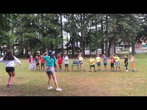 Chorégraphie camp des Petits Dinos - Semaine 6 - Cégep Gérald-Godin