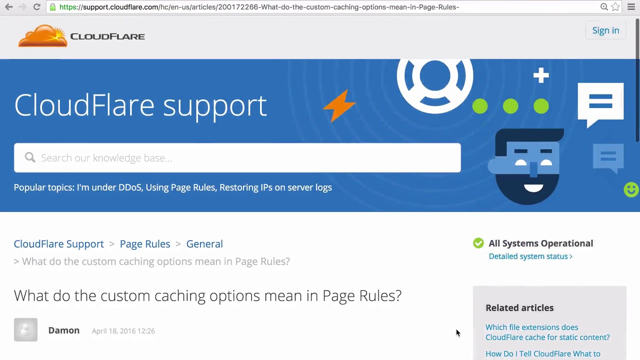 Page Rules for WordPress