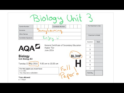 Biology past papers online