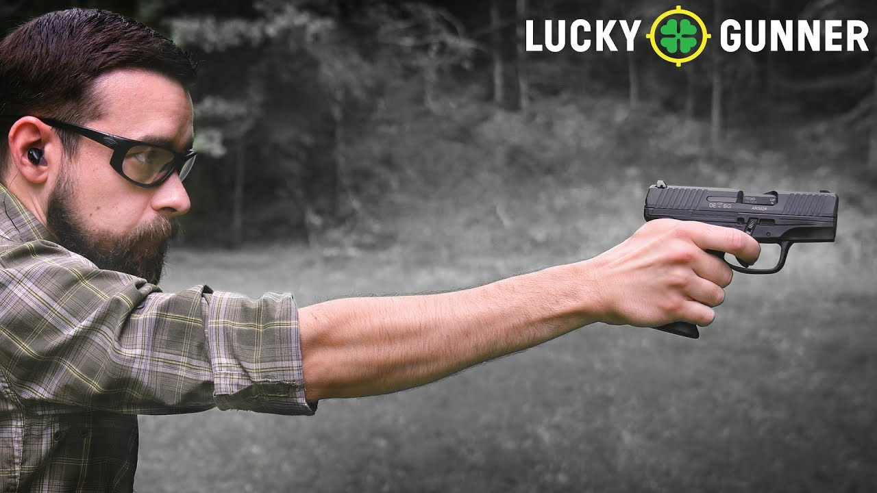 How to Shoot a Pistol One-Handed