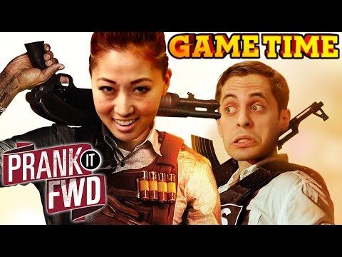 SURPRISE GAMETIME SHOOT - PRANK IT Fwd