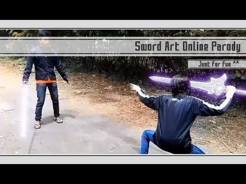 Papercraft Sword Art Online Live Action..... Parody ver. Indo