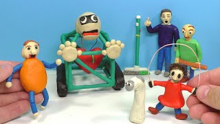 Making Baldi's Basics in Education and Learning with Clay | Tutorial