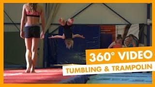 Tumbling & Trampolin | 360° Video | Sportcamp Loutraki(Im griechischen Sportcamp in Loutraki trainieren u.a. Tumbler aus Großbritannien und Trampolinsportler aus Israel sowie Griechenland. Erlebt einen 360° ..., 2016-08-09T10:55:07.000Z)