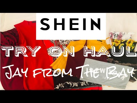 ORDERING FROM SHEIN INTERNATIONALLY! IS IT WORTH IT? || Jay From The Bay