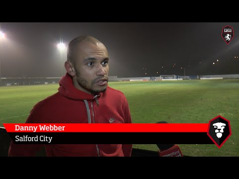 Nelson FC 1-3 Salford City - Danny Webber post-match interview