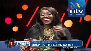 "Vera Sidika speaks about ""her new skin tone"" 