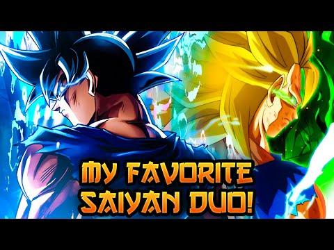 MY FAVORITE SAIYAN TEAM GOES EVEN FURTHER BEYOND! UI GOKU + SSJ3 GOKU! | Dragon Ball Legends PvP