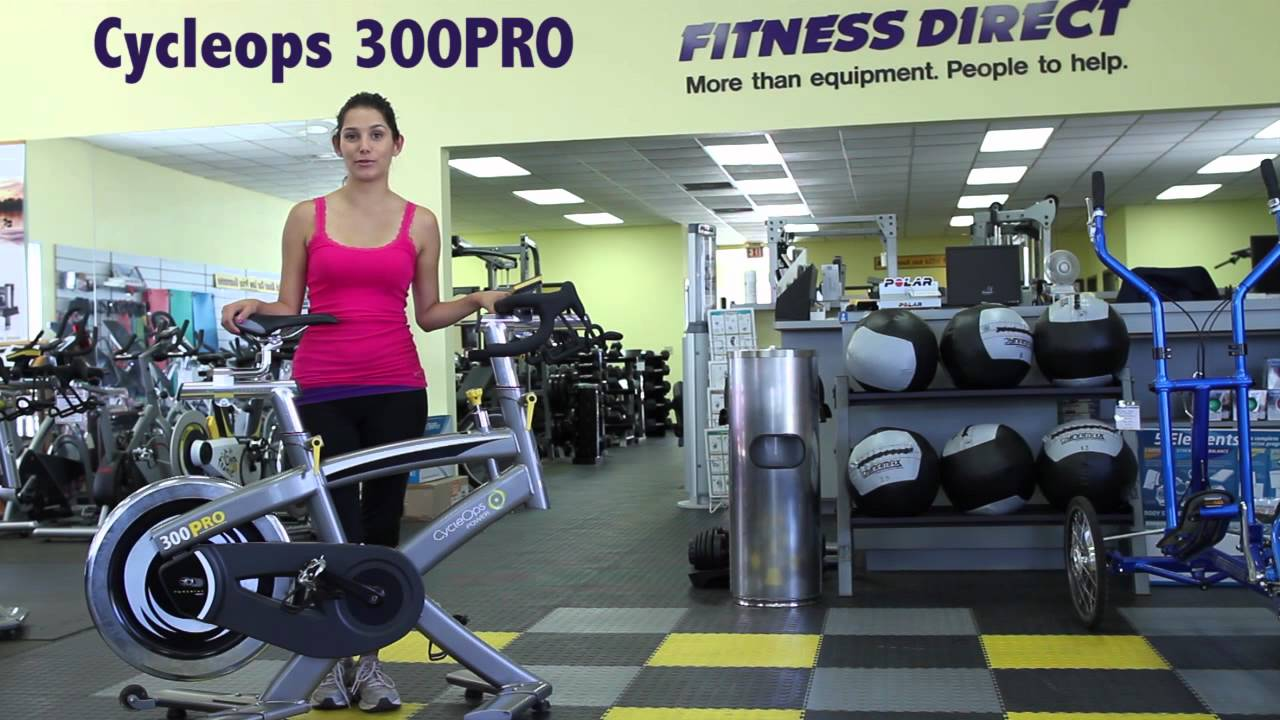 cycleops 300 pro indoor cycle fitness direct youtube. Black Bedroom Furniture Sets. Home Design Ideas