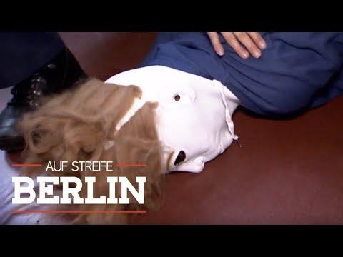 Bewaffneter Maskenmann in der Schule | Auf Streife - Berlin | SAT.1 TV