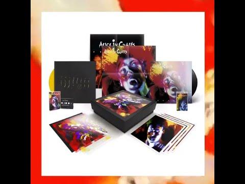 "Alice In Chains ""Facelift"" 30th Anniv. vinyl deluxe box set promo video"