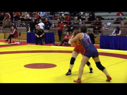2015 Nordhagen Classic: 48 kg Darby Huckle vs. Arelys Valles