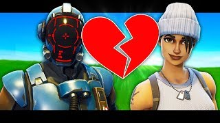 THE VISITOR HAS A CRUSH! *NEW BLOCKBUSTER SKIN* A Fortnite Short Film