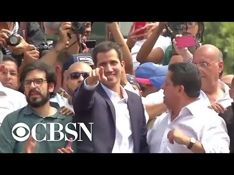 Trump recognizes Venezuela's interim president Juan Guaido amid political turmoil