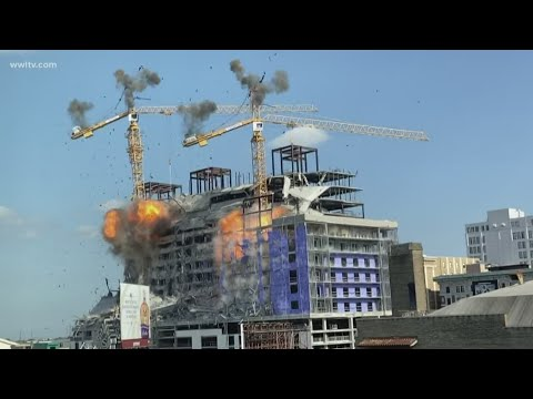 D Scott - New Orleans Cranes Implode Doesn't Go Quite As Planned