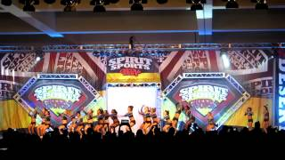 California Allstars Elite - Spirit Sports, Palm Springs Day 1 (02-02-13)