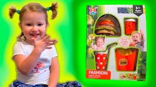 ИГРА МАКДОНАЛЬДС Game McDonalds | В конце прикол!! Собираем БУРГЕР, КАРТОШКА ФРИ СОУС КОЛА
