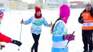 """""""Ачинск, НА ЛЫЖИ"""" - городской спортивный праздник. 17 февраля 2018 года."""