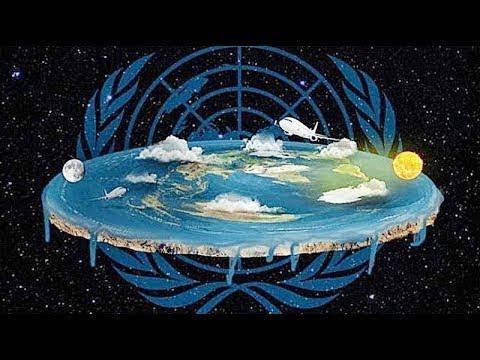 Плоская земля. Сотворение мира согласно Библии. NASA.