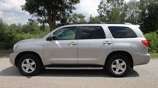 2008 Toyota Sequoia SR5. Leather, DVD entertain, bluetooth, electric folding seats. Excellent Cond.