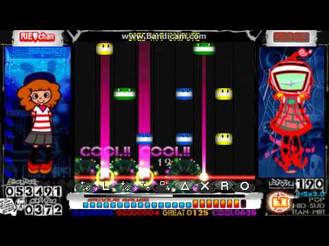 [PSP][PMP2] Pop'n Music Portable 2 - A.I. DARKNESS - DOES NOT COMPUTE [EX]