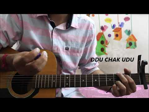 Paniyon Sa - Atif Aslam - Hindi Guitar Cover Lesson Chords Easy version - Satyameva Jayate