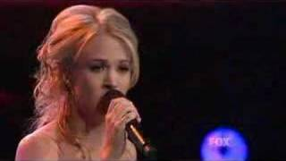 Jesus Take The Wheel-Carrie Underwood American Idol