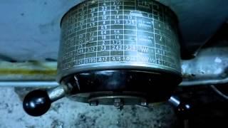 Как нарезать ТРУБНУЮ резьбу на станке 1К62.