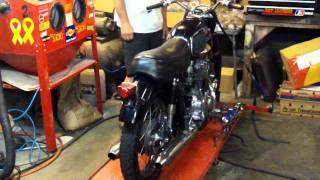 Oakys Garage 1966 CB450 Black Bomber Restoration Future Award Winner