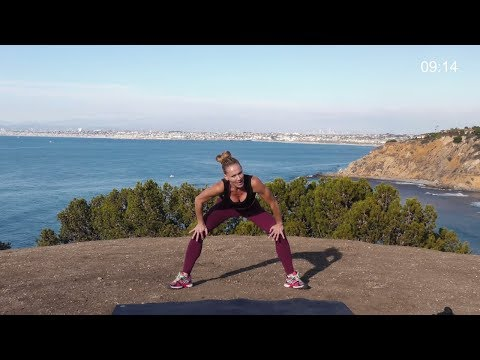 25 Min HIIT Workout with Weights // Abs Core Glutes Legs Thighs