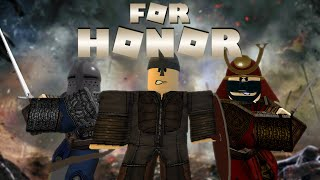 ROBLOX but it's For Honor - 100K Subscriber Special
