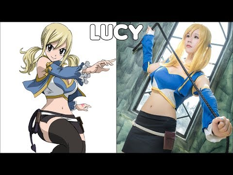 Fairy Tail Characters In Real Life