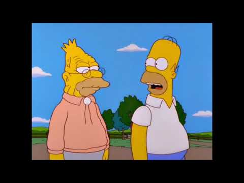 Homer Finds Out What His Middle Name Stands For The Simpsons