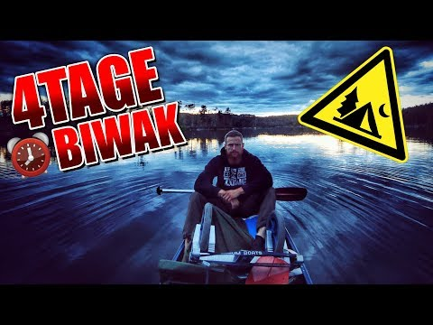 4Tage BIWAK in Schweden - Bushcraft kochen schnitzen Sauna Overnighter Übernachtung | Fritz Meinecke