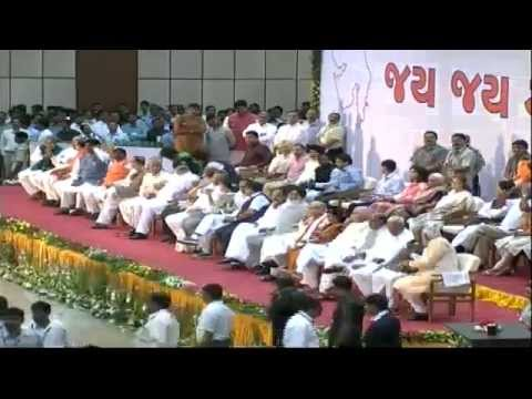 Smt. Anandiben Patel takes oath as the Chief Minister of Guj