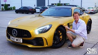 My AMG GT R is Now Very, Very Yellow! | GARAGE