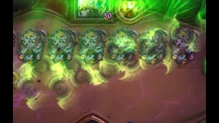 14 New Illidan Animation at the same time in Hearthstone