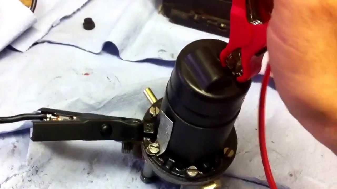 SU Fuel Pump Rebuild