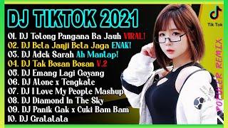 Dj Tiktok Terbaru 2021 Dj Aku Bahagia X Tolong Pangana Ba Jauh Slow Beat Viral Remix Terbaru 2021