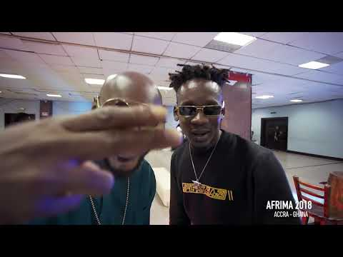 Mr. Eazi & Guiltybeatz at AFRIMA 2018 (featuring top Africa Stars, Legends and Superstars)
