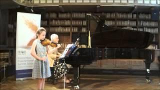 Vaughan Williams:Greensleeves:Olga Devine@Encore Music Projects International Summer School 2015